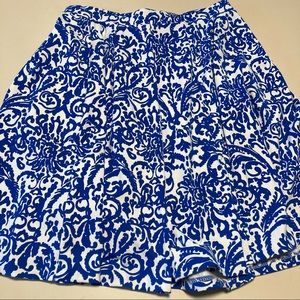 Adrienne Vittadini Skirt Stretch Waist Pockets M